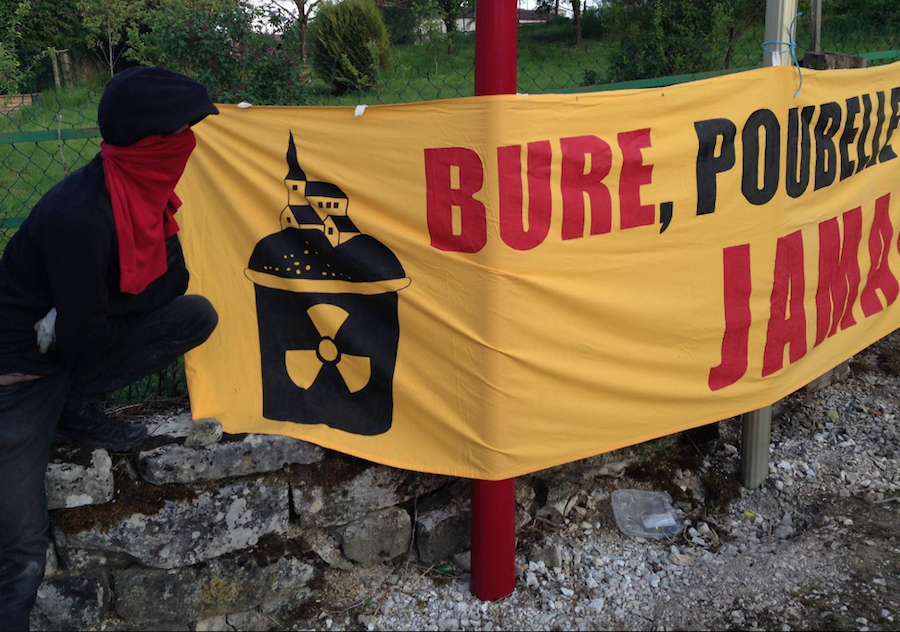Déchets nucléaires : 500 gendarmes à Bure pour évacuer la ZAD