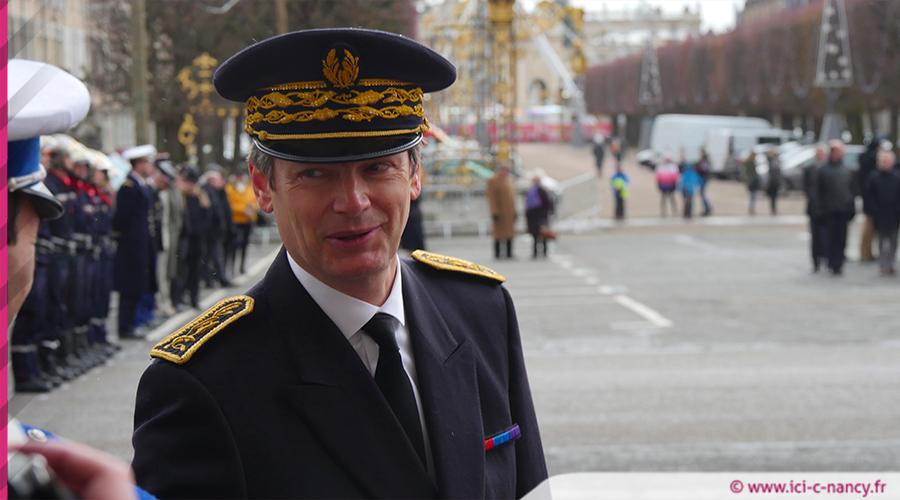 Eric Freysselinard, nouveau préfet de Meurthe-et-Moselle :