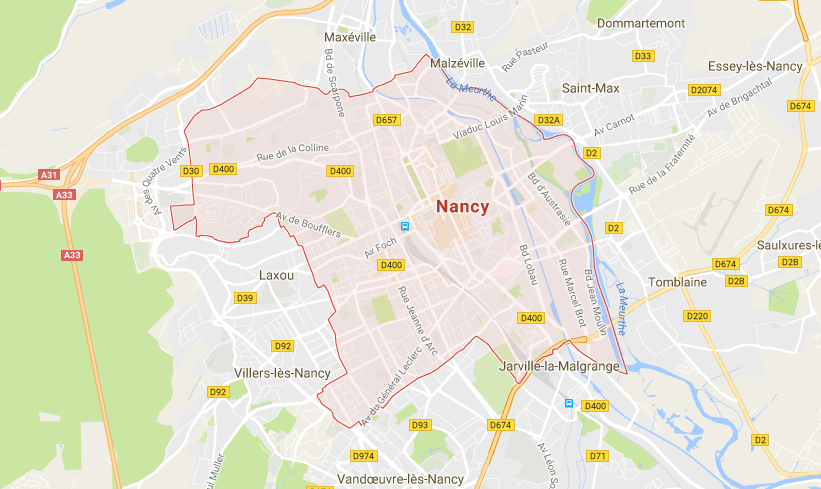 Nancy-Carte