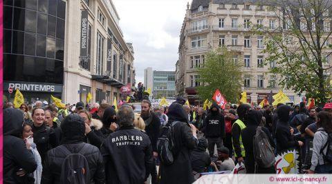 """Vent de Bure à Nancy : 1300 manifestants ont battu le pavé contre """"la poubelle nucléaire"""""""