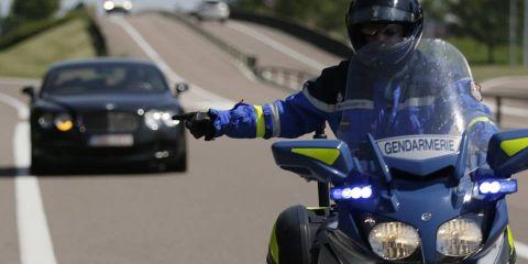 Lorraine : un automobiliste flashé à 155 km/h au lieu de 80 km/h