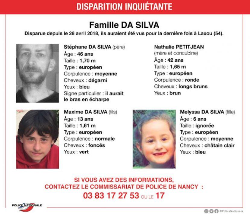 Disparition d'une famille à Laxou : un avis de recherche diffusé par la police de Nancy
