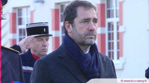 Vidéos. À Nancy, Christophe Castaner à la rencontre des sapeurs-pompiers