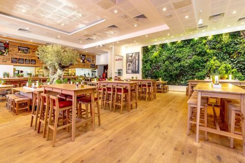 Un restaurant Vapiano - photo d'illustration