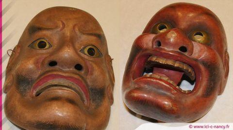 Nancy : le Théâtre Nô et ses fabuleux masques à découvrir au Musée des Beaux-Arts