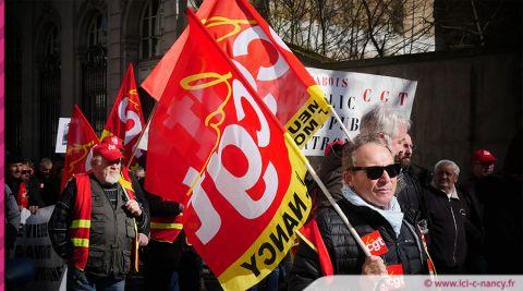 Nancy : un nouvel appel à la grève et mobilisation le 10 décembre