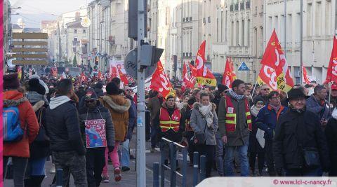 Manifestation du 5 décembre : quatre hommes placés en garde à vue