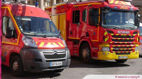 Nancy centre : incendie au 7e étage d'une tour d'habitation