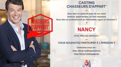 Nancy et alentours : M6 lance un casting pour l'émission Chasseurs d'appart'