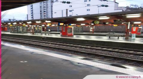 """SNCF : trafic toujours """"très fortement perturbé"""" ce lundi, les prévisions en Lorraine"""