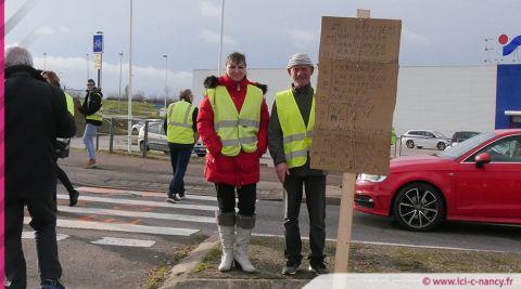 Gilets jaunes : la mobilisation du 8 décembre en Meurthe-et-Moselle