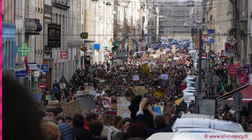 VIDEO.Marche pour le climat : plus de 4000 participants à Nancy