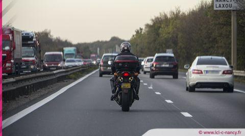 Lorraine : un motard flashé à la vitesse de 230 km/h au lieu de 110 km/h