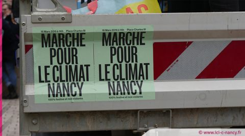 [DIAPORAMA] La marche pour le climat à Nancy en 10 photos