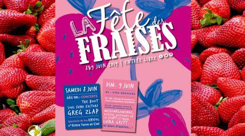 Fête des fraises à Maxéville : concerts, spectacles et vide-greniers