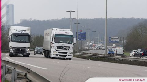 Pollution : fin de réduction de vitesse en Meurthe-et-Moselle