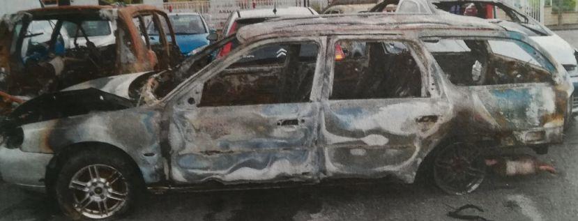 Feu de voiture au Plateau de Haye : deux enfants interpellés