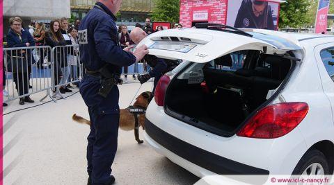 #LABOÎTE : la police en opération recrutement à Nancy