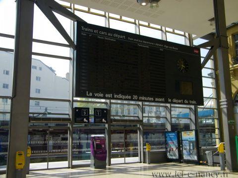 SNCF : les prévisions de ce mardi en Lorraine