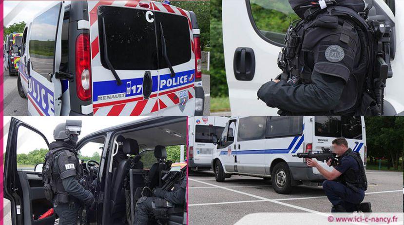 Vidéo.Attaque terroriste au Zénith de Nancy : les forces de sécurité en exercice