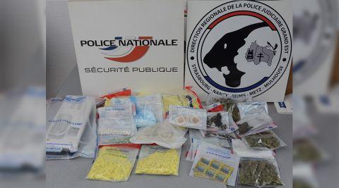 Trafic de drogues de synthèse à Nancy et Metz : 4 interpellations