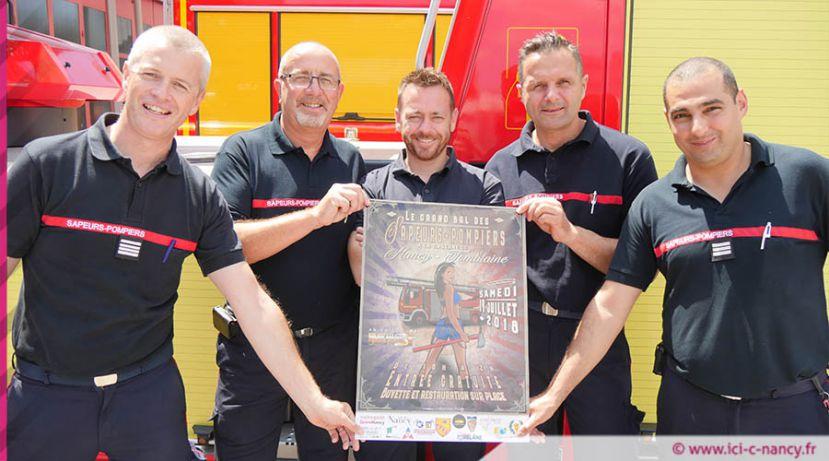 Tomblaine : pour le bal du 14 juillet, les pompiers vont mettre le feu