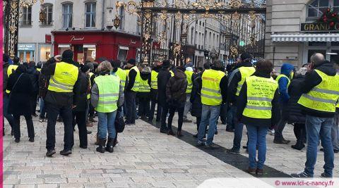 """Acte 13 des Gilets jaunes : un arrêté préfectoral samedi à Nancy pour interdire """"toute manifestation"""""""