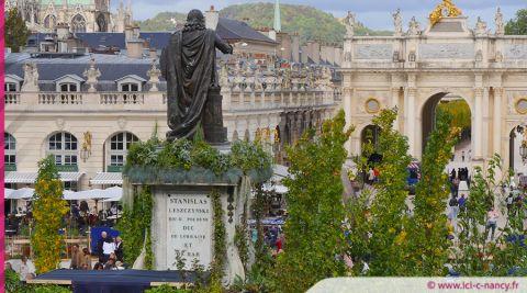 VIDÉO. Nancy : le nouveau jardin éphémère dessine son empreinte