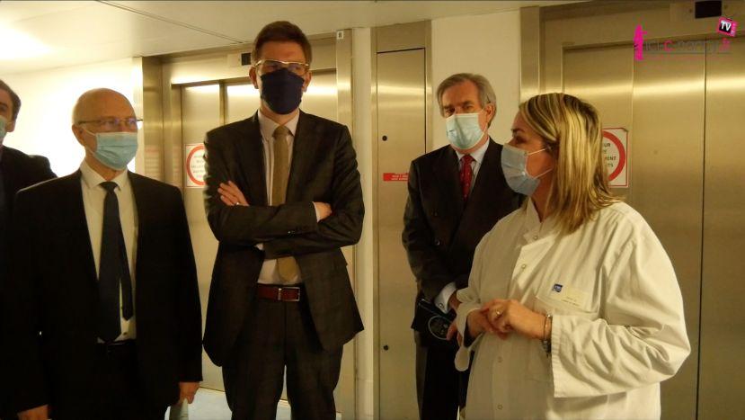 Vidéo. Tension hospitalière de patients Covid-19 : des renforts de personnels au CHRU de Nancy