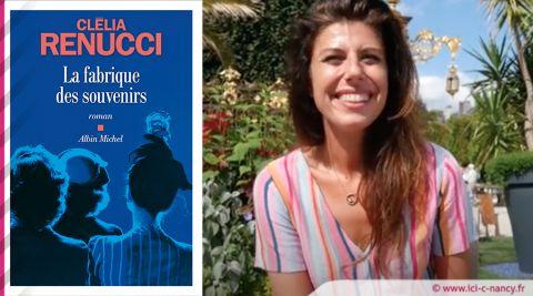 """Vidéo. Livre sur la Place : Rencontre avec Clélia Renucci """"La Fabrique des Souvenirs"""""""