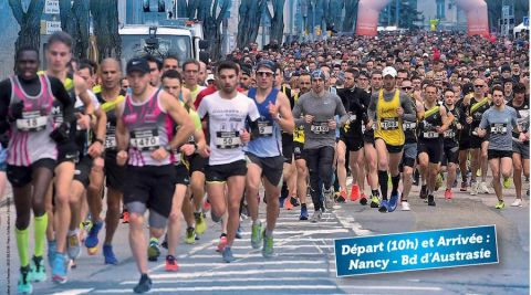 Le semi-marathon de la métropole du Grand Nancy maintenu le 4 octobre