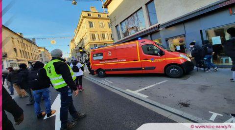 Tensions lors de la manifestation revendicative à Nancy : 5 gardes à vue et plusieurs blessés