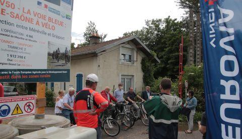 Aménagements cyclables: 4 M€ pour boucler la V50 Voie Bleu en Meurthe-et-Moselle