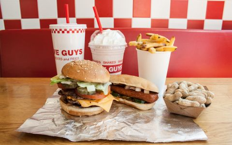 Les burgers de Five Guys