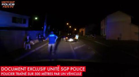 Vidéo d'un policier traîné sur 500 mètres : un syndicaliste policier convoqué devant l'IGPN