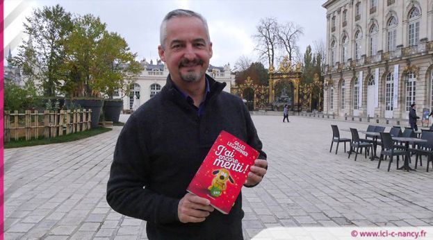 Gilles Legardinier à Nancy - crédit photo icicnancy fr