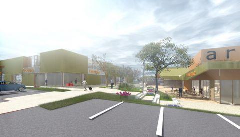 Un nouveau centre commercial à proximité du Parc des Expositions de Nancy