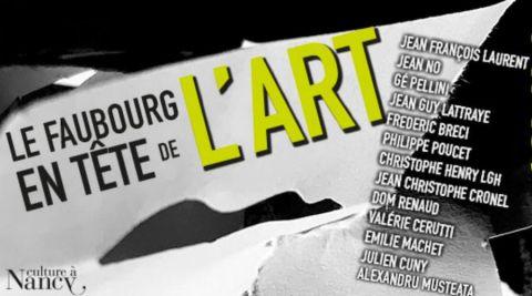 "Nancy accueille ce week-end ""Faubourg en tête de l'art"""