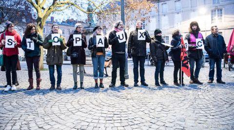 Vidéo. Réforme du bac : contre l'E3C, les profs se rassemblent devant le lycée Henri Poincaré