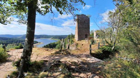 Journées Européennes du Patrimoine : le chantier de rénovation du château de Pierre-Percée à découvrir