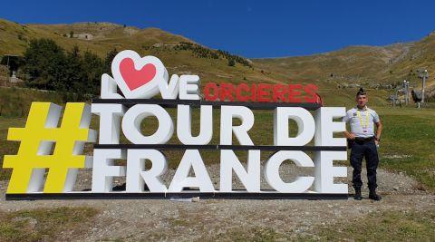 De Nice aux Champs-Elysées, un policier Nancéien dans la roue du Tour de France
