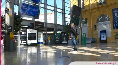SNCF : la gare de Nancy à l'heure du déconfinement