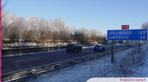 Info trafic : ralentissement important sur l'A33 après un accident