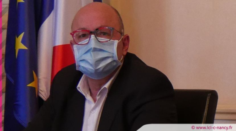 Christian Rabaud, infectiologue et président de la commission médicale d'établissement du CHRU de Nancy  / photo ICN.fr