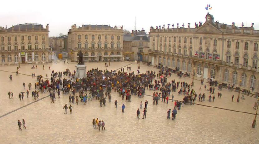 capture d'écran webcam Nancy