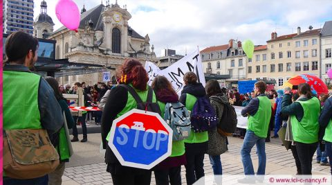 Marche pour le climat à Nancy - photo icicnancyfr
