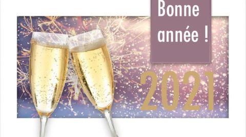 Nouvel an 2021 : messages de bonne année, des idées de textes pour vos voeux