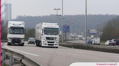 Info trafic : ralentissements autour de Nancy après un accident sur l'A31