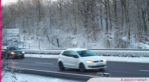 La Lorraine en vigilance météo orange « neige-verglas »