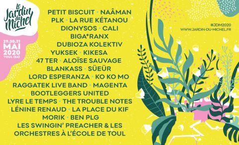 PLK, Petit Biscuit, Cali, Dionysos, 47 TER au Jardin Du Michel 2020